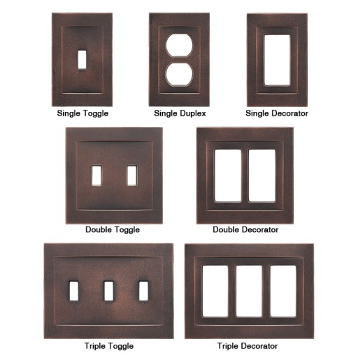 Bronze Light Switch Covers Endearing Oil Rubbed Bronze Switchplates  Bronze Magnetic Wall Plates  Rq Home Inspiration