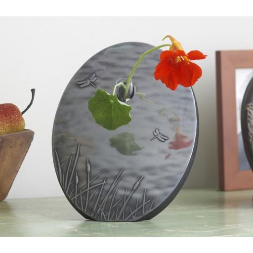 Dragonfly Flower Vase