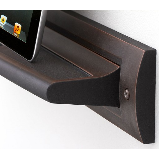 Oil Rubbed Bronze Tablet Shelf | Upscale Kitchenware | RQ Home