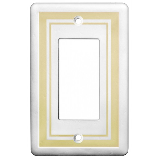 Single GFCI Color Accents Wall Plate - Beige