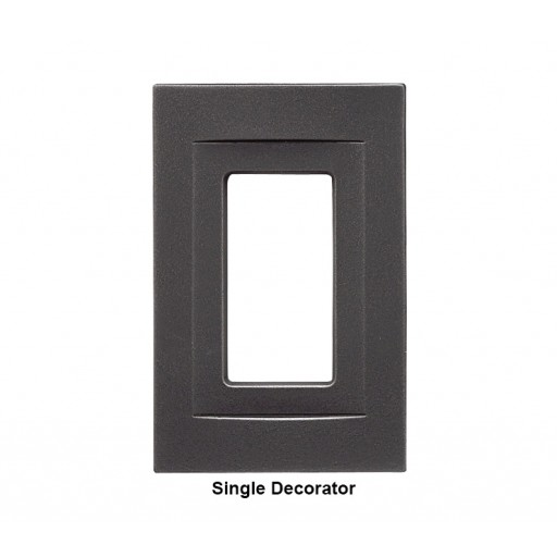 Signature Wrought Iron Magnetic Single Decorator Wall Plate