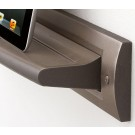 Brushed Nickel Tablet Shelf