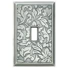Damask Decorative Magnetic Single Toggle Wall Plate