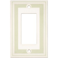 Single GFCI Color Accents Wall Plate - Soft Sage