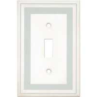 Single Toggle Color Accents Wall Plate - Cool Blue