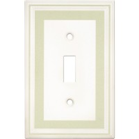 Single Toggle Color Accents Wall Plate - Soft Sage