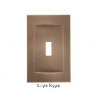 Signature Classic Bronze Magnetic Single Toggle Wall Plate