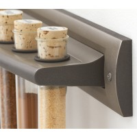 Brushed Nickel Spice Rack
