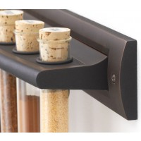 Oil Rubbed Bronze Spice Rack
