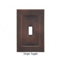 Signature Oil Rubbed Bronze Magnetic Single Toggle Wall Plate