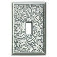Damask Decorative Magnetic Single Toggle Wall Plate