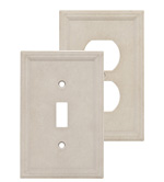 Cast Stone Wall Plates - Sand
