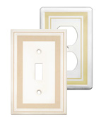 Color Accents Wall Plates - Beige image