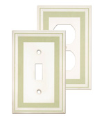 Color Accents Wall Plates - Soft Sage
