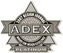 Recipient of the prestigious Platinum ADEX Design Journal: Award for Design Excellence