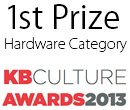 First Prize - Hardware Category - KBCulture Awards 2013