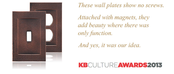 Magnetic Wall Plates