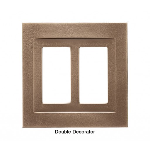 Signature Classic Bronze Magnetic Double Decorator Wall Plate