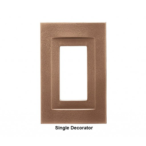 Signature Classic Bronze Magnetic Single Decorator Wall Plate