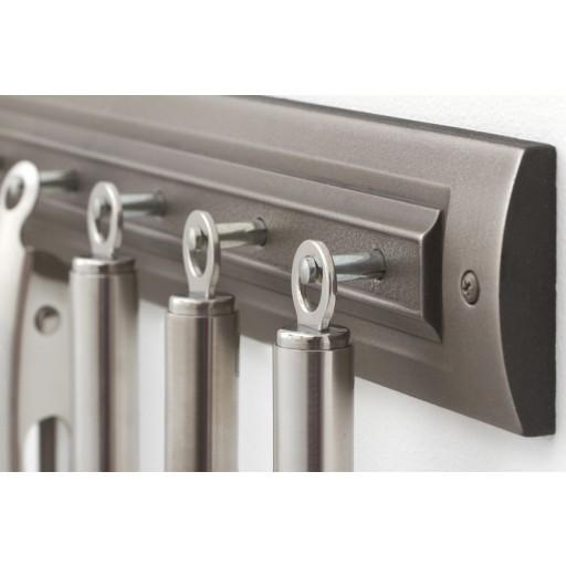 Brushed Nickel Utensil Rack