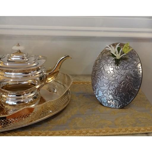 Damask Flower Vase