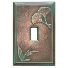 Ginkgo Decorative Magnetic Single Toggle Wall Plate