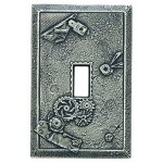 Boiler Room Decorative Magnetic Single Toggle Wall Plate