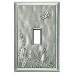 Dragonfly Decorative Magnetic Single Toggle Wall Plate