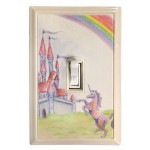 Fairy Tale Kid's Deco Magnetic Wall Plate