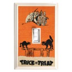 Trick or Treat Holiday Deco Magnetic Wall Plate