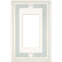 Single GFCI Color Accents Wall Plate - Cool Blue