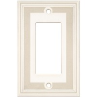 Single GFCI Color Accents Wall Plate - Grey