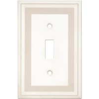 Single Toggle Color Accents Wall Plate - Grey