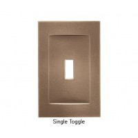 Signature Classic Bronze Magnetic Single Toggle Wall Plate