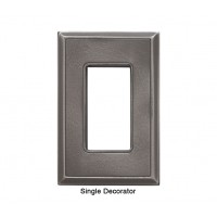 Classic Nickel Silver Magnetic Single Decorator Wall Plate