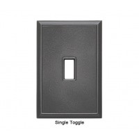 Classic Wrought Iron Magnetic Single Toggle Wall Plate