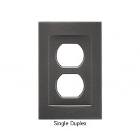 Signature Wrought Iron Magnetic Single Duplex Wall Plate