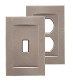 Signature Brushed Nickel Magnetic Wall Plates image