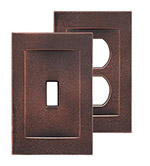 Signature Oil Rubbed Bronze Magnetic Wall Plates image