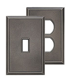 Classic Timeworn Steel Magnetic Wall Plates image